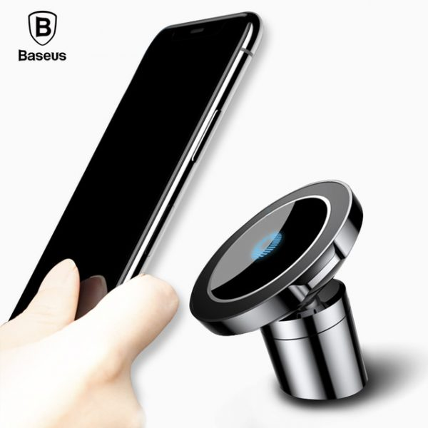 buy popular 54bfe e3ff5 Baseus Qi Magnetic Wireless Car Charger Air Vent Holder For iPhone X /  Samsung S9